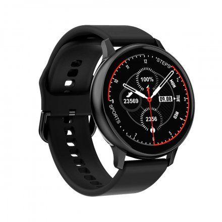 Smartwatch Pacific 09 Czarny + Niebieski Pasek