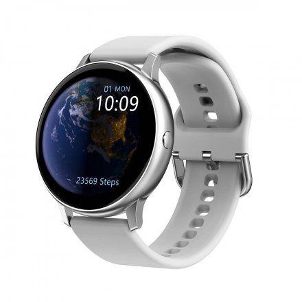 Smartwatch Pacific 09 Biały + Czarny Pasek