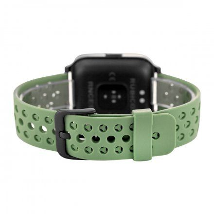 Zielony smartwatch męski damski Rubicon RNCE58BINX03AX