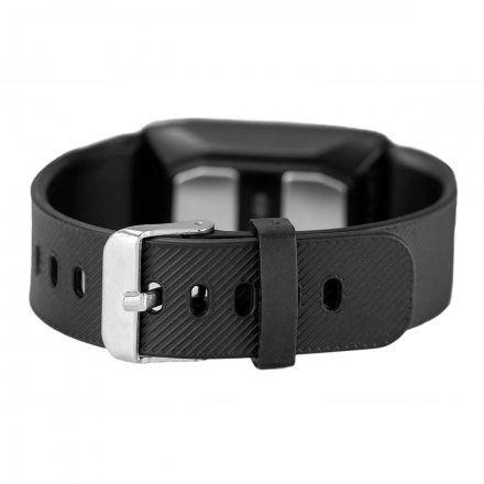 Czarny smartwatch męski damski Rubicon RNCE60BIBX01BX + PASEK GRATIS