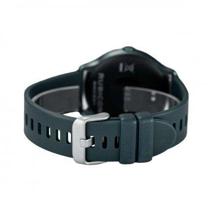 Granatowy smartwatch męski damski Rubicon RNCE61DIBX05AX