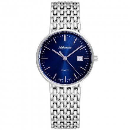 Zegarek Męski Adriatica na bransolecie A1270.5115Q - Zegarek Kwarcowy Swiss Made