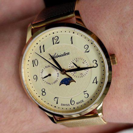 Zegarek Męski Adriatica na bransolecie A1274.1121QF - Multifunction Swiss Made