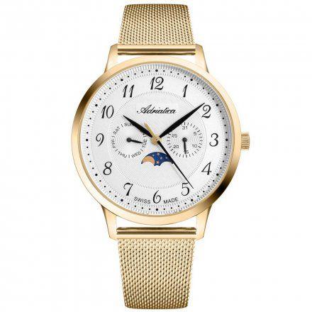 Zegarek Męski Adriatica na bransolecie A1274.1123QF - Multifunction Swiss Made