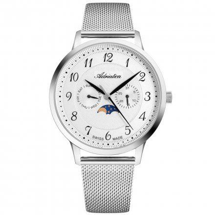 Zegarek Męski Adriatica na bransolecie A1274.5123QF - Multifunction Swiss Made