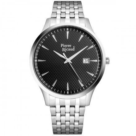 Pierre Ricaud P91037.5114Q Zegarek Męski Niemiecka Jakość
