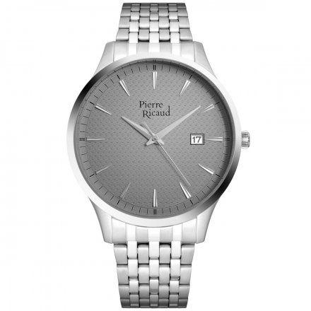 Pierre Ricaud P91037.5117Q Zegarek Męski Niemiecka Jakość