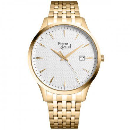 Pierre Ricaud P91037.1113Q Zegarek Męski Niemiecka Jakość
