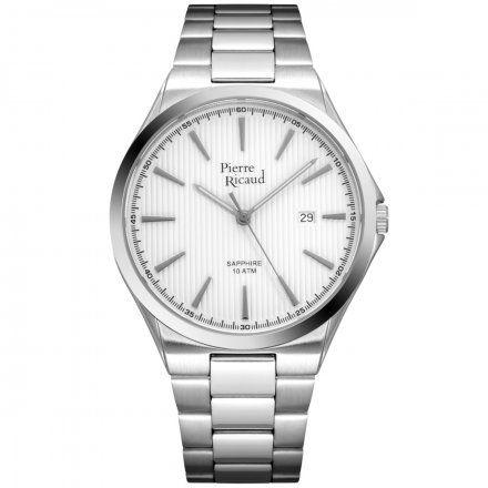 Pierre Ricaud P91069.5113Q Zegarek Męski Niemiecka Jakość