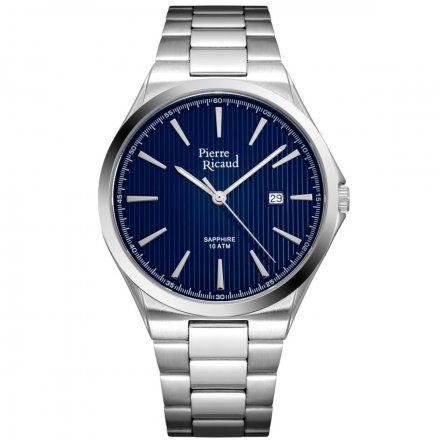 Pierre Ricaud P91069.5115Q Zegarek Męski Niemiecka Jakość
