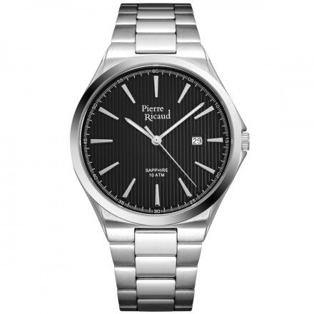 Pierre Ricaud P91069.5116Q Zegarek Męski Niemiecka Jakość
