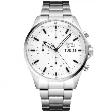 Pierre Ricaud P91083.5113CH Zegarek Męski Niemiecka Jakość