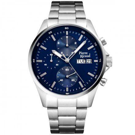 Pierre Ricaud P91083.5115CH Zegarek Męski Niemiecka Jakość