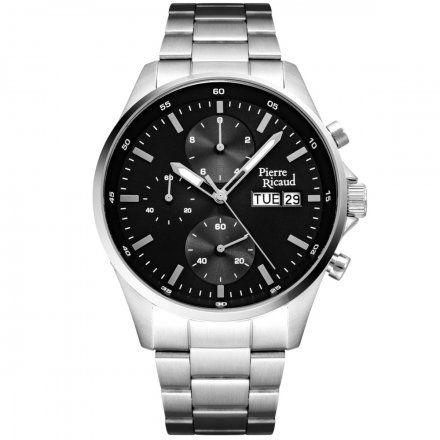 Pierre Ricaud P91083.5114CH Zegarek Męski Niemiecka Jakość