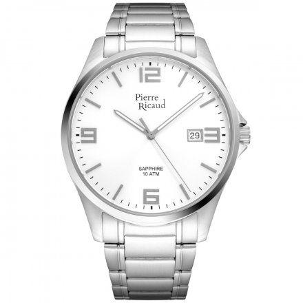 Pierre Ricaud P91076.5153Q Zegarek Męski Niemiecka Jakość