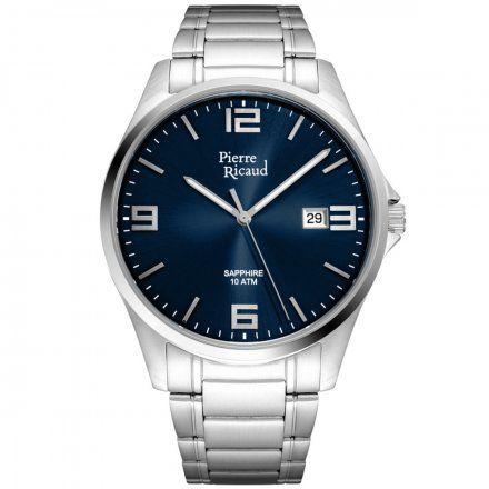 Pierre Ricaud P91076.5155Q Zegarek Męski Niemiecka Jakość