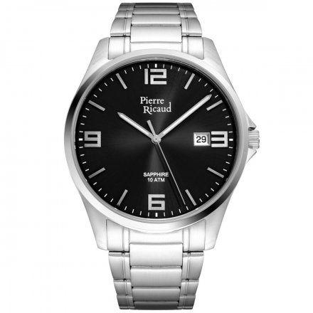 Pierre Ricaud P91076.5156Q Zegarek Męski Niemiecka Jakość