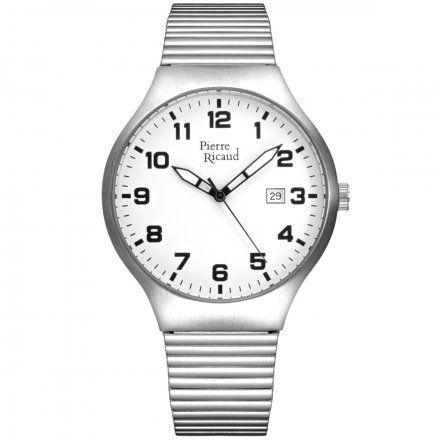 Pierre Ricaud P91084.5123Q Zegarek Męski Niemiecka Jakość