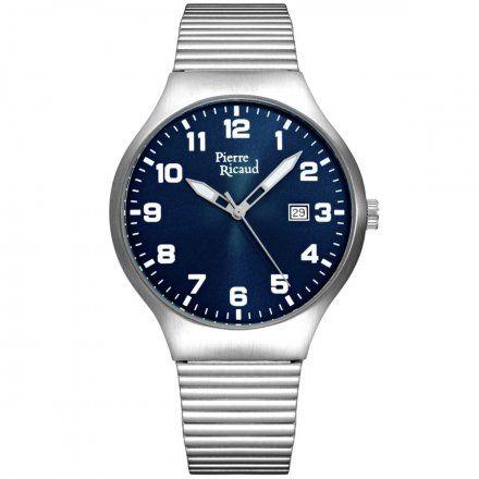 Pierre Ricaud P91084.5125Q Zegarek Męski Niemiecka Jakość