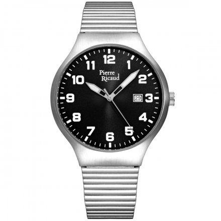 Pierre Ricaud P91084.5124Q Zegarek Męski Niemiecka Jakość