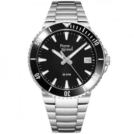 Pierre Ricaud P91075.Y114Q Zegarek Męski Niemiecka Jakość