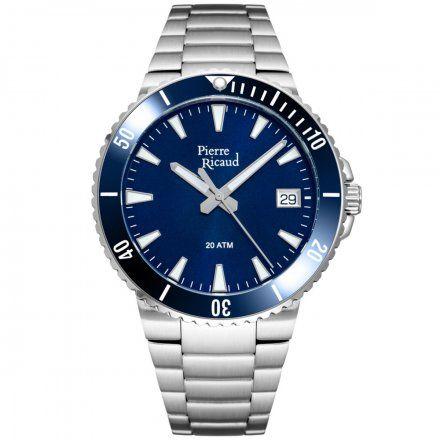 Pierre Ricaud P91075.Y115Q Zegarek Męski Niemiecka Jakość