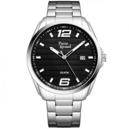 Pierre Ricaud P91072.5155Q Zegarek Męski Niemiecka Jakość