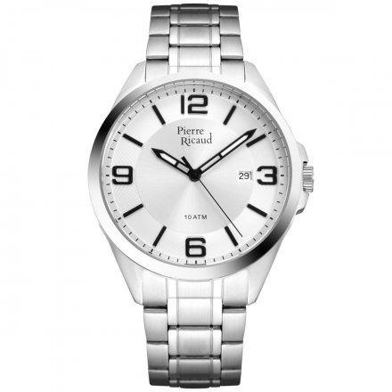 Pierre Ricaud P91073.5153Q Zegarek Męski Niemiecka Jakość