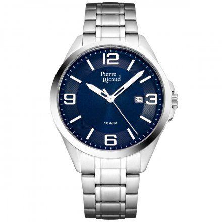Pierre Ricaud P91073.5155Q Zegarek Męski Niemiecka Jakość