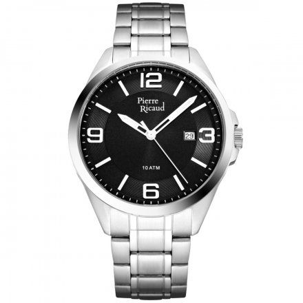 Pierre Ricaud P91073.5156Q Zegarek Męski Niemiecka Jakość
