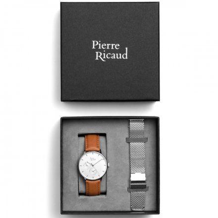 Pierre Ricaud P91079.5B13QF Zegarek + bransoleta | ZESTAW