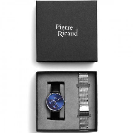 Pierre Ricaud P91079.5215QF Zegarek + bransoleta | ZESTAW