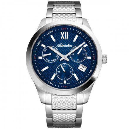 Zegarek Męski Adriatica na bransolecie A8324.5165QF Swiss Made