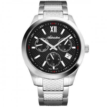 Zegarek Męski Adriatica na bransolecie A8324.5164QF Swiss Made