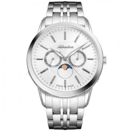 Zegarek Męski Adriatica na bransolecie A8306.5113QF Swiss Made