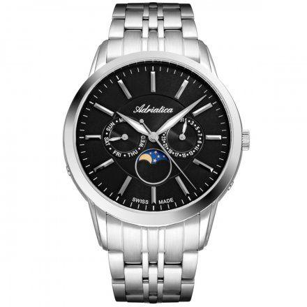 Zegarek Męski Adriatica na bransolecie A8306.5114QF Swiss Made