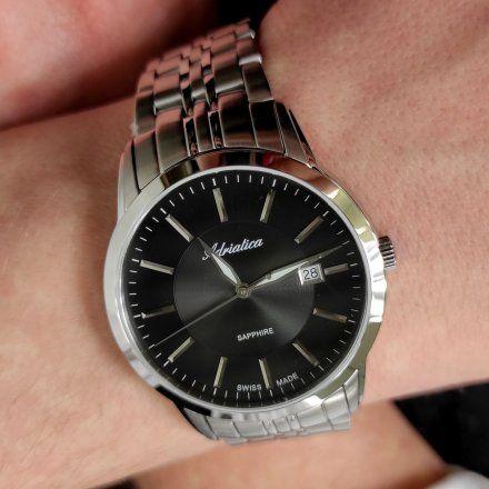 Zegarek Męski Adriatica na bransolecie A8306.5114Q Swiss Made