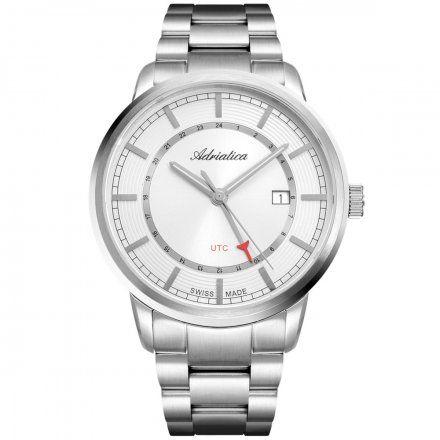 Zegarek Męski Adriatica na bransolecie A8307.5113Q Swiss Made