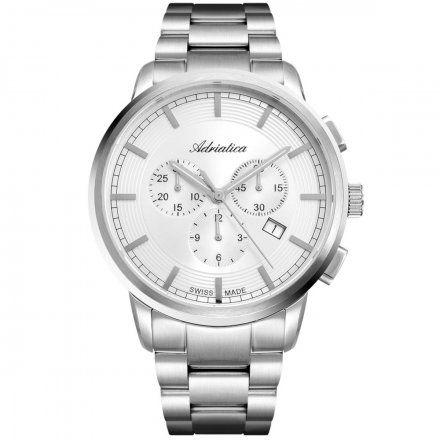 Zegarek Męski Adriatica na bransolecie A8307.5113CH Swiss Made