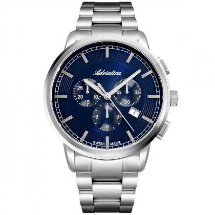 Zegarek Męski Adriatica na bransolecie A8307.5115CH Swiss Made