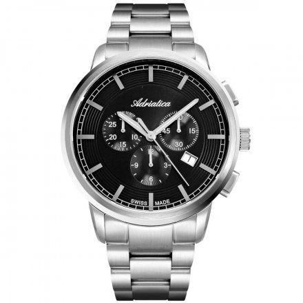 Zegarek Męski Adriatica na bransolecie A8307.5116CH Swiss Made