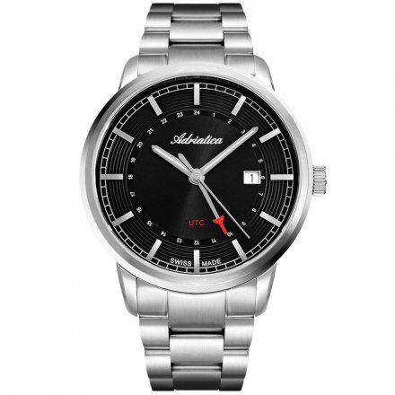 Zegarek Męski Adriatica na bransolecie A8307.5116Q Swiss Made