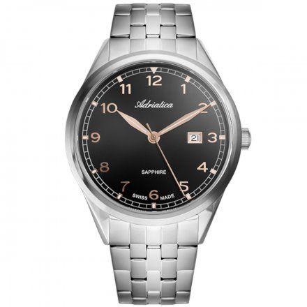 Zegarek Męski Adriatica na bransolecie A8260.51R4Q Swiss Made