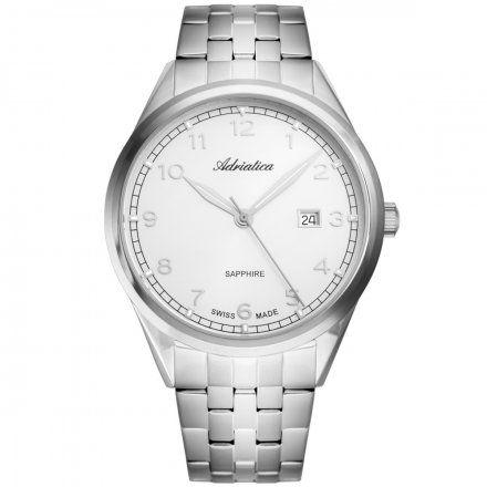 Zegarek Męski Adriatica na bransolecie A8260.5123Q Swiss Made