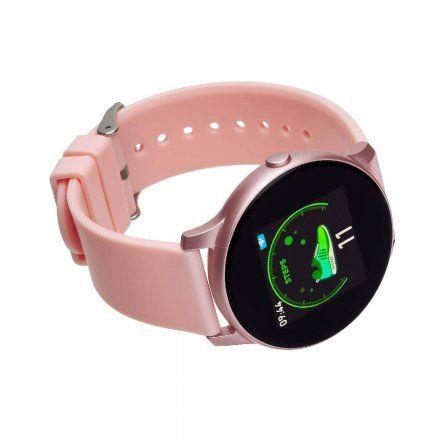 Smartwatch Garett Lady Rosa RT złoty z różowym paskiem