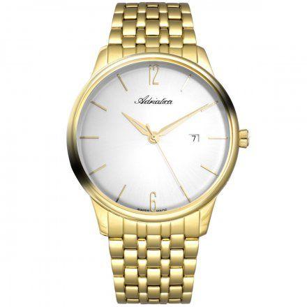 Zegarek Męski Adriatica na bransolecie A8269.1153Q Swiss Made