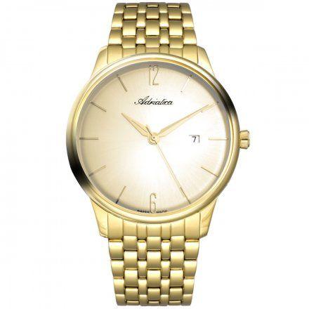 Zegarek Męski Adriatica na bransolecie A8269.1151Q Swiss Made
