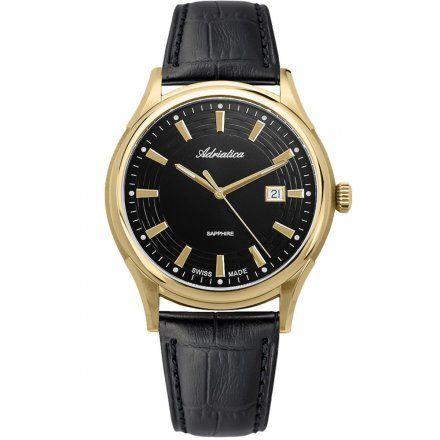 Zegarek Męski Adriatica na pasku A2804.1216Q Swiss Made