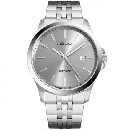 Zegarek Męski Adriatica na bransolecie A8303.5117Q Swiss Made