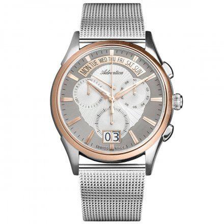 Zegarek Męski Adriatica na bransolecie A1193.R113CH Swiss Made